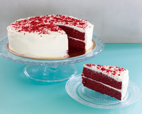 Red-Velvet Taart - Double-Delicious