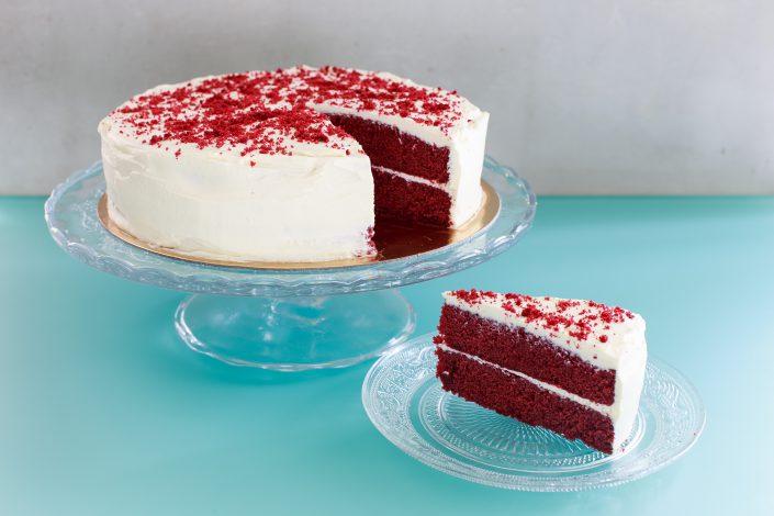 Red-Velvet Taart - Double-Delicious